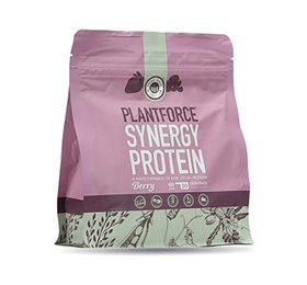 Plantforce Protein bær Synergy • 400g.